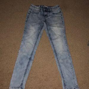f8d0560fa24bc Mudd Bottoms   Dark Denim Blue Jeans   Poshmark
